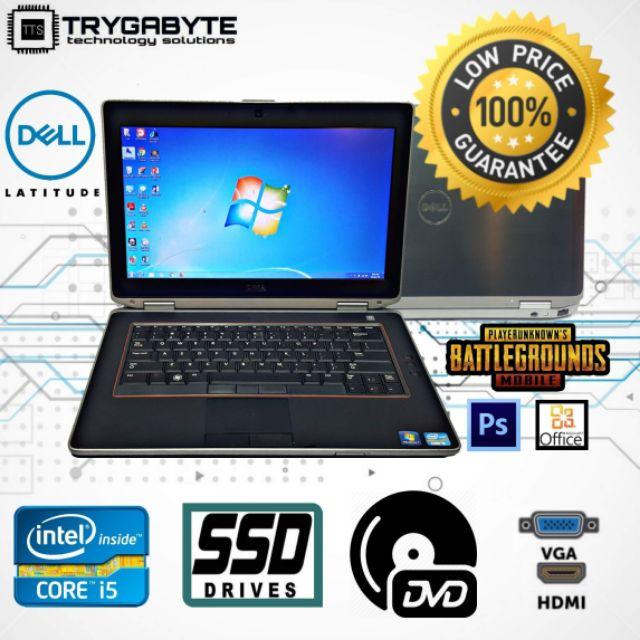 Intel Core i5 / SSD 512GB ,256GB , 128GB / 8GB , 4GB Ram / 14 inch / Dell  Latitude (Refurbish) (Laptop Murah)