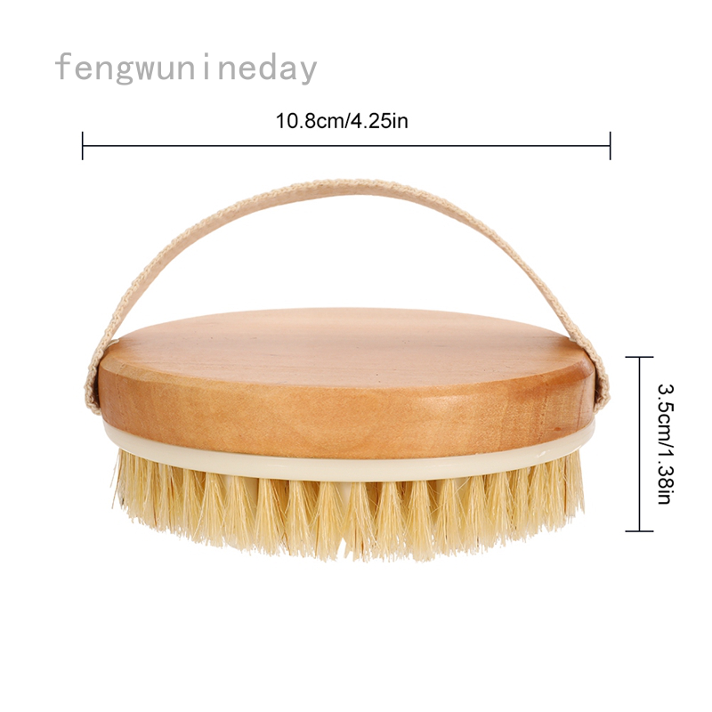 Fengwunineday Shower Brush Dry Skin Body Exfoliator Cellulite