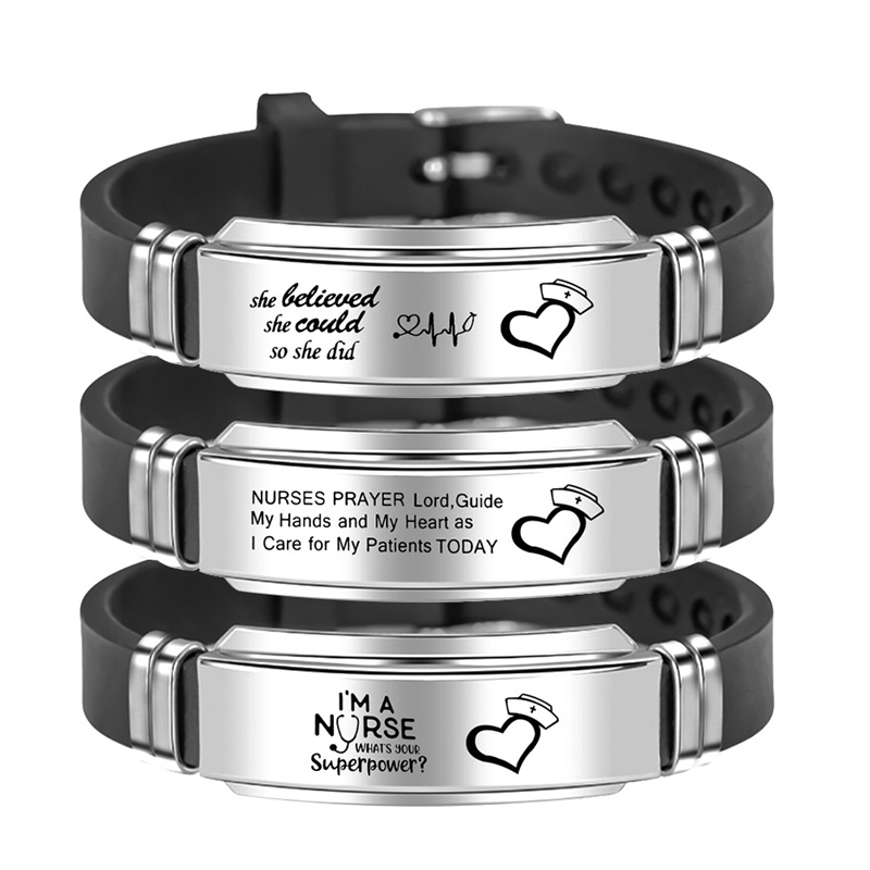 Engravable Medical Alert Id Bracelets