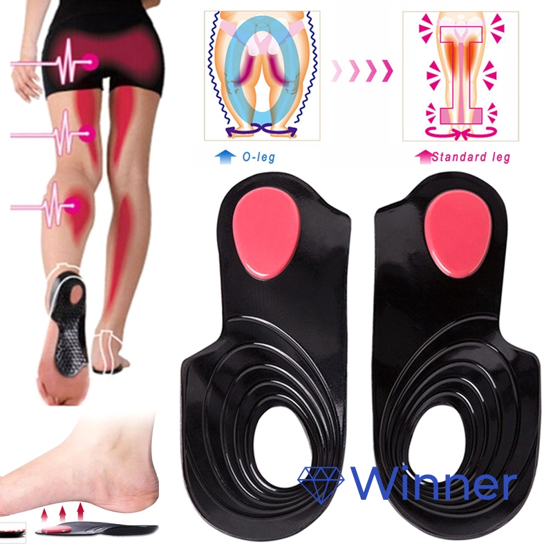 2X Men Gel Orthotic Sport Running Insoles Insert Shoe Pad Arch Support Cushion O