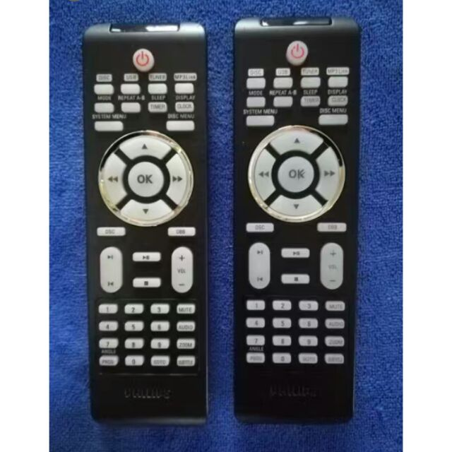 Philips DVD micro audio remote control