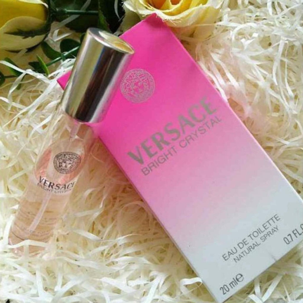 VERSACE BRIGHT CRYSTAL (Europe Authentic Perfume 20ML)