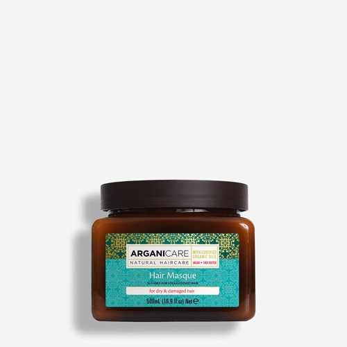 Argan & Shea Butter Hair Masque for Dry and Damage Hair 500ml