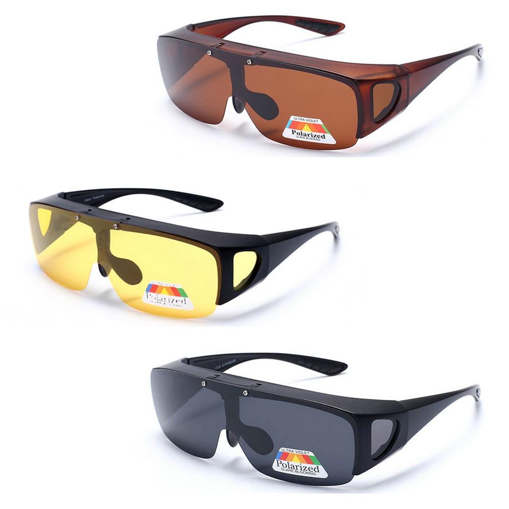 Malaysia Stock 2203a Magnetic Clip On 6 In 1 Polarized Sunglasses Kacamata Frame 2202a Cermin Mata Shopee