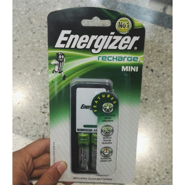 Energizer rechargeable battery charger CH2PCS3