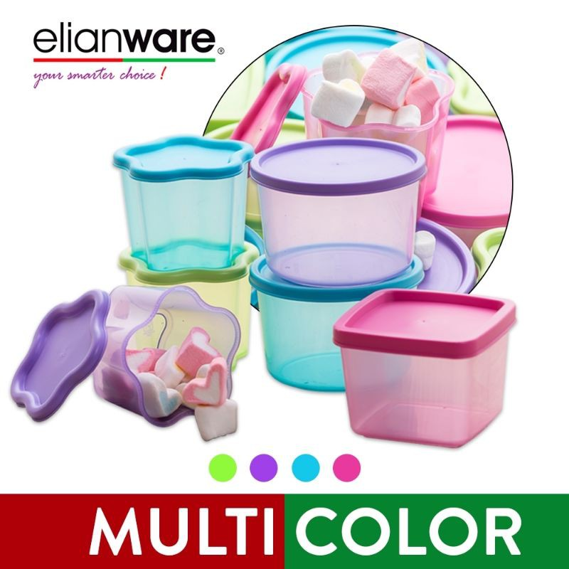 1pcs elianware Mini Container Midget Sugar Sauce (star design) Baby Food Storage Container Jelly Mould 95ml