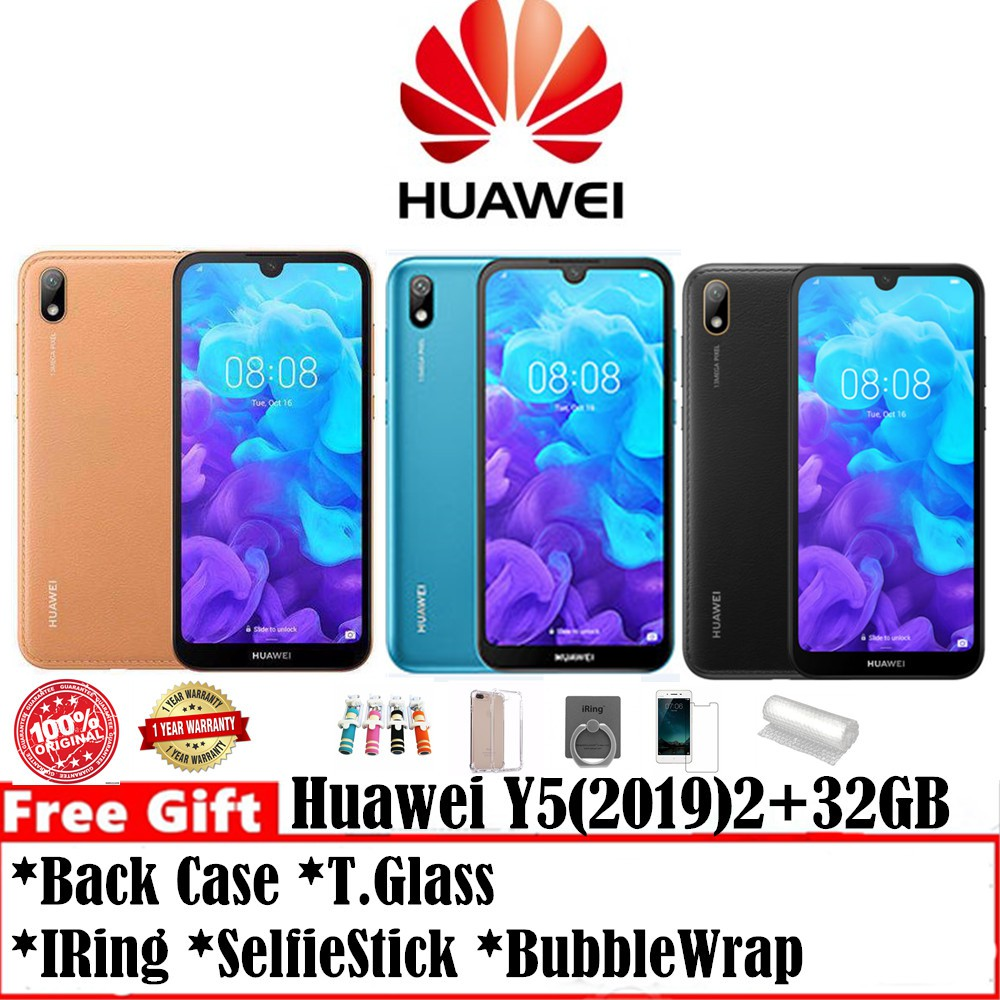 Huawei Y5 2019 2+32GB Rom (Huawei Official Store 1Years Warranty)