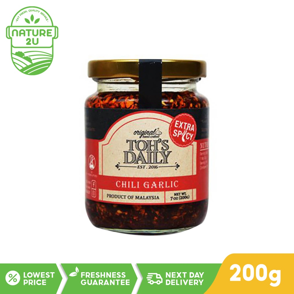 Toh's Daily Chili Garlic *Extra Spicy (200G)