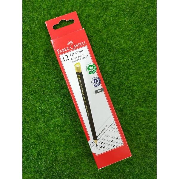 Faber-Castell 2B TRI Grip Pencil 311802 (box 12pcs)