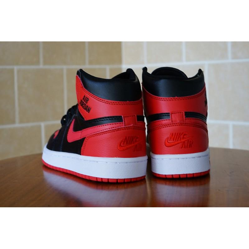 5a8ae84b *Ready Stock* Nike Air Jordan 1 Rare Air AJ1 men women shoes running shoes  Black Red 36-47
