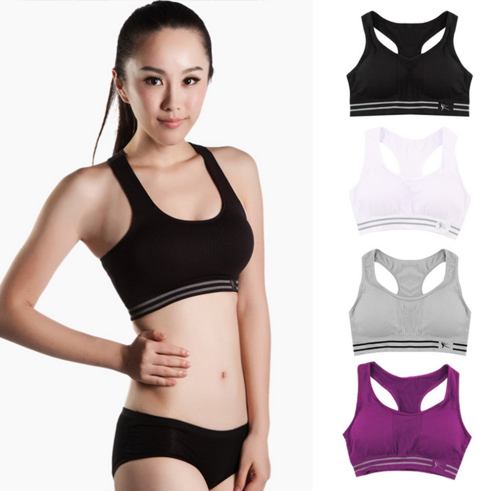 e2254206be ProductImage. ProductImage. Sexy women fitness bra padded compression sport  bra top Sportswear Quick dry
