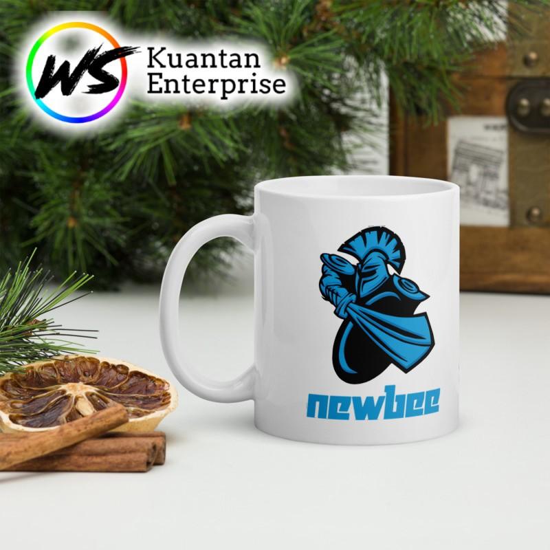 【100% Ready Stock】DOTA MUG TEAM LOGO TEAM NEWBIE   CAWAN DOTA 2 TEAM NEWBIE   OFFICE MUG   COFFEE MUG   PRINTING MUG
