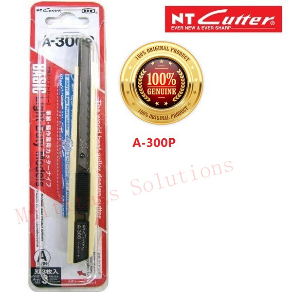 [100% Original] NT CUTTER KNIFE A-300P (Ready Stock) Import from Japan