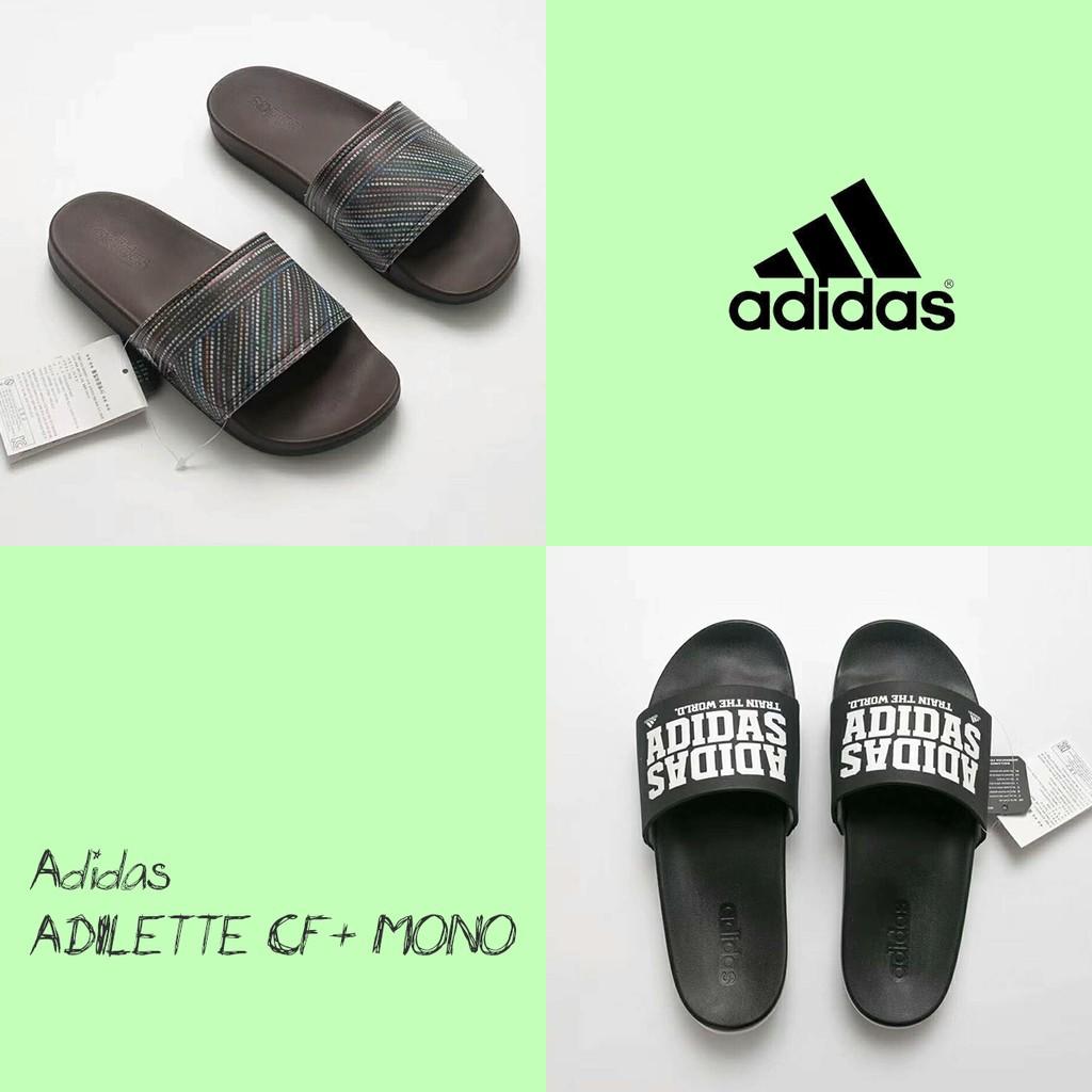 2f643c52f Summer Family Bathroom Slippers Couple flip flops Adidas ADILETTE CF+ MONO  36-45