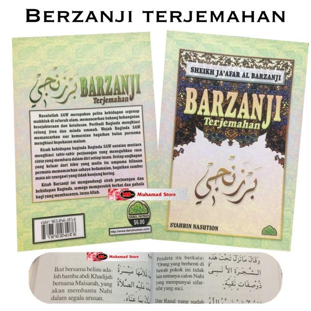 BERZANJI Terjemahan SHEIKH JA'AFAR AL BARZANJI