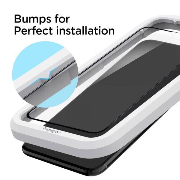 Original Spigen AlignMaster Glas.tR iPhone 11 / 11 Pro / 11 Pro Max / XR / XS / XS Max Full Cover Tempered Glass Screen