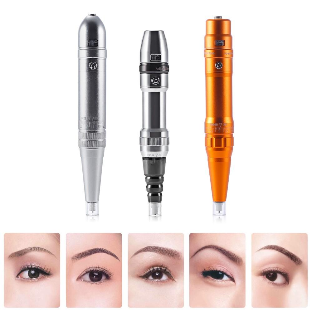 Eyebrow Semi-permanent Makeup Machine Needles Tattoo Pen | Shopee Malaysia