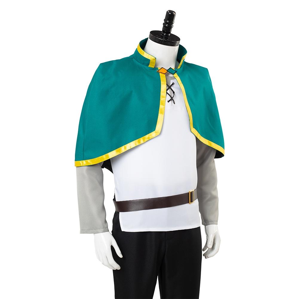 KonoSuba God/'s Blessing on This Wonderful World Satou Kazuma Cosplay Costume