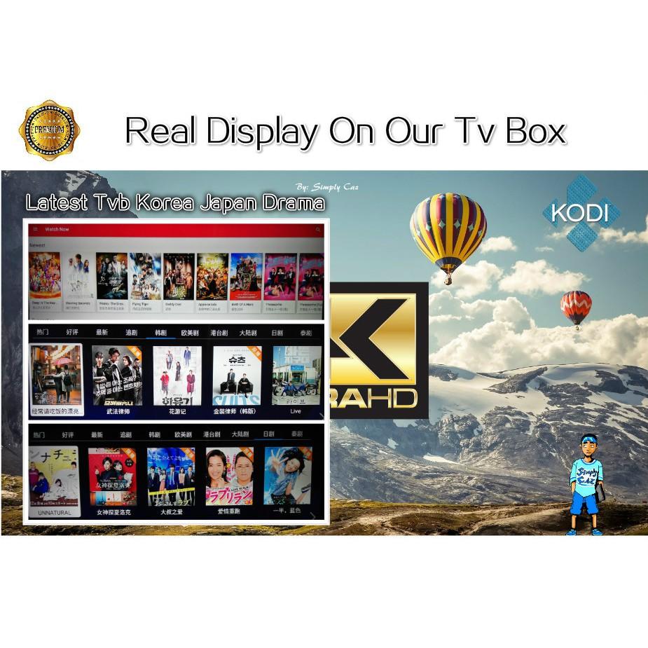 😍Preinstall10000 Channel+LatestApp😍 4K Smart Tv Box Android Box IPTV TvBox