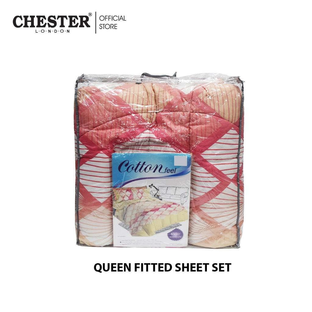 Cotton Feel 450 Thread Count Queen Comforter Set - SACALOBRA