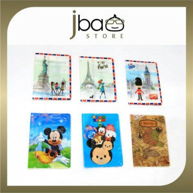 Passport Holder Cover Organizer bag Present Cute Travel Holiday Kids Adult