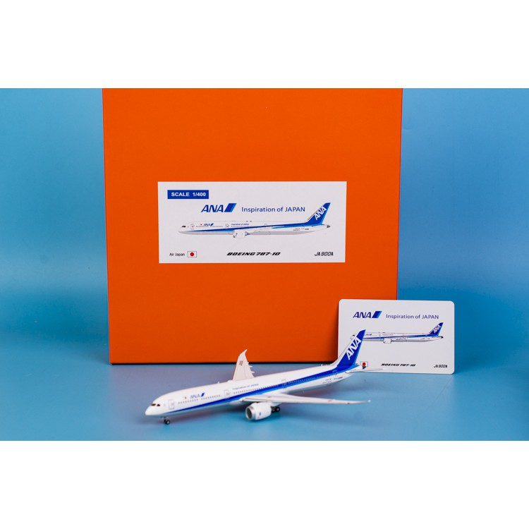 JA900A JC Wings Scale 1:400 Diecast Model EW478X001 ANA B787-10 Reg