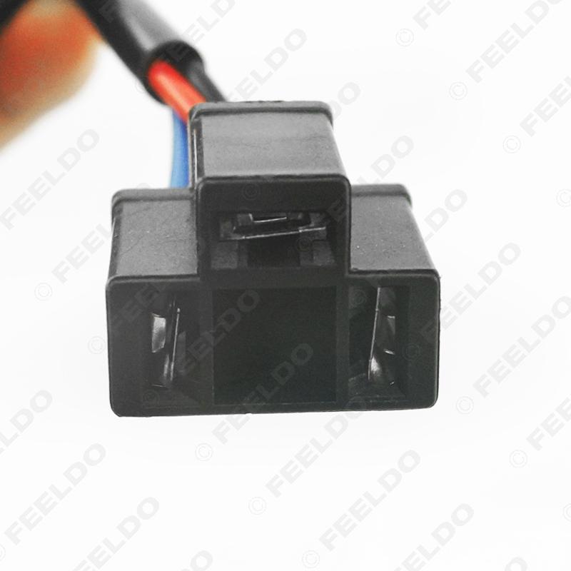 Car Xenon HID Kit Anti-flicker Error Canceller H4 To H13 Socket Error on