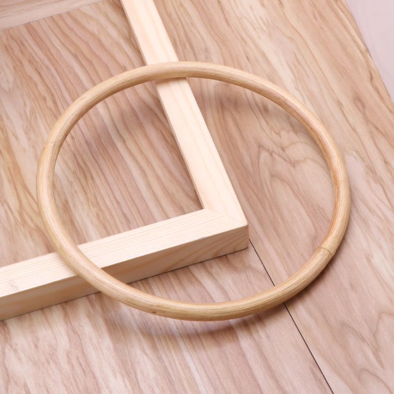 Wooden Handcraft Material for Handbag Making CAE1142 A pair of 15cm Bamboo Handles for Bag