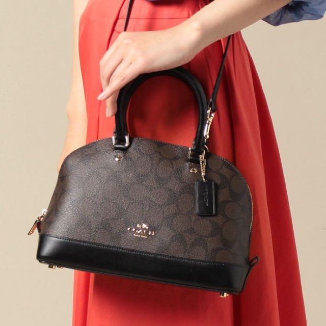 6002fda5f27 ProductImage. ProductImage. COACH MINI SIERRA SATCHEL IN SIGNATURE F58295