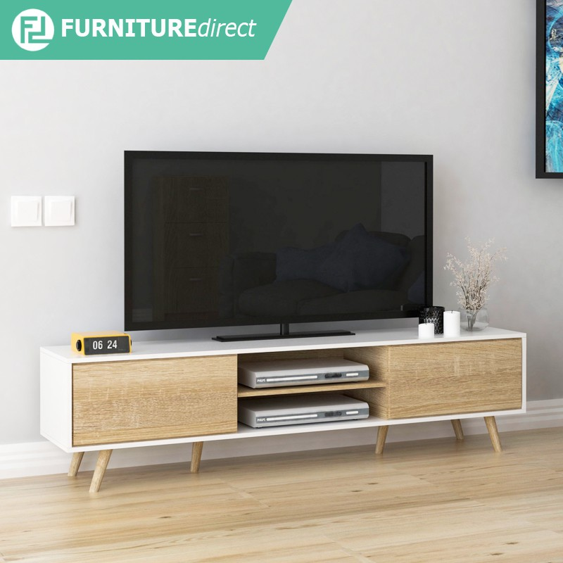 Furniture Direct TANGO 6 feet Scandinavian TV cabinet/ rak tv/ kabinet tv
