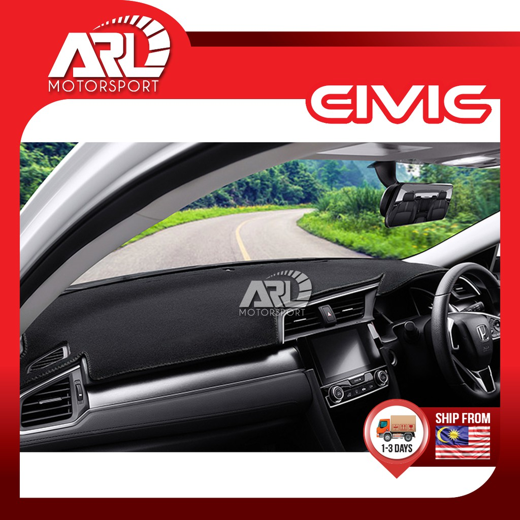 Honda Civic (2016-2020) Dashboard Carpet Cover Car Auto Acccessories ARL Motorsport