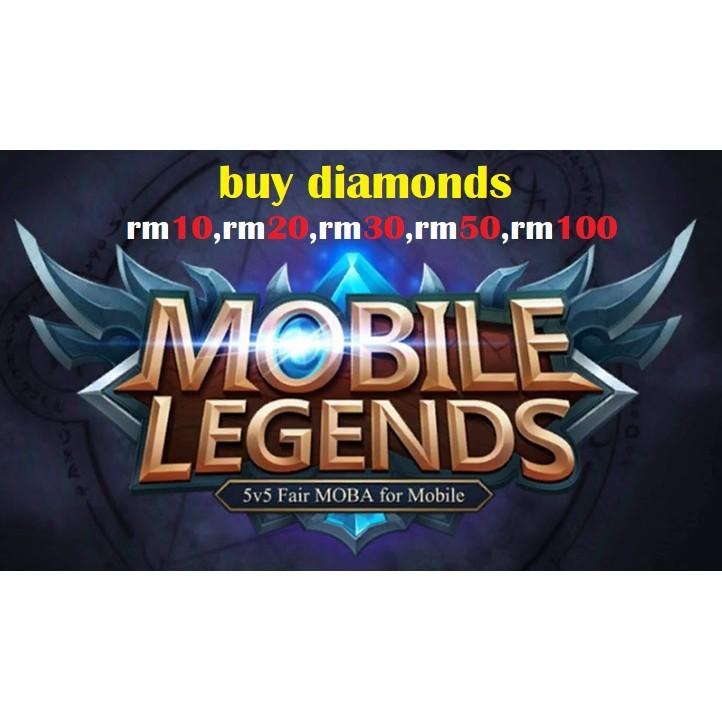 Diamond Dan Skin Mobile Legends Shopee Malaysia