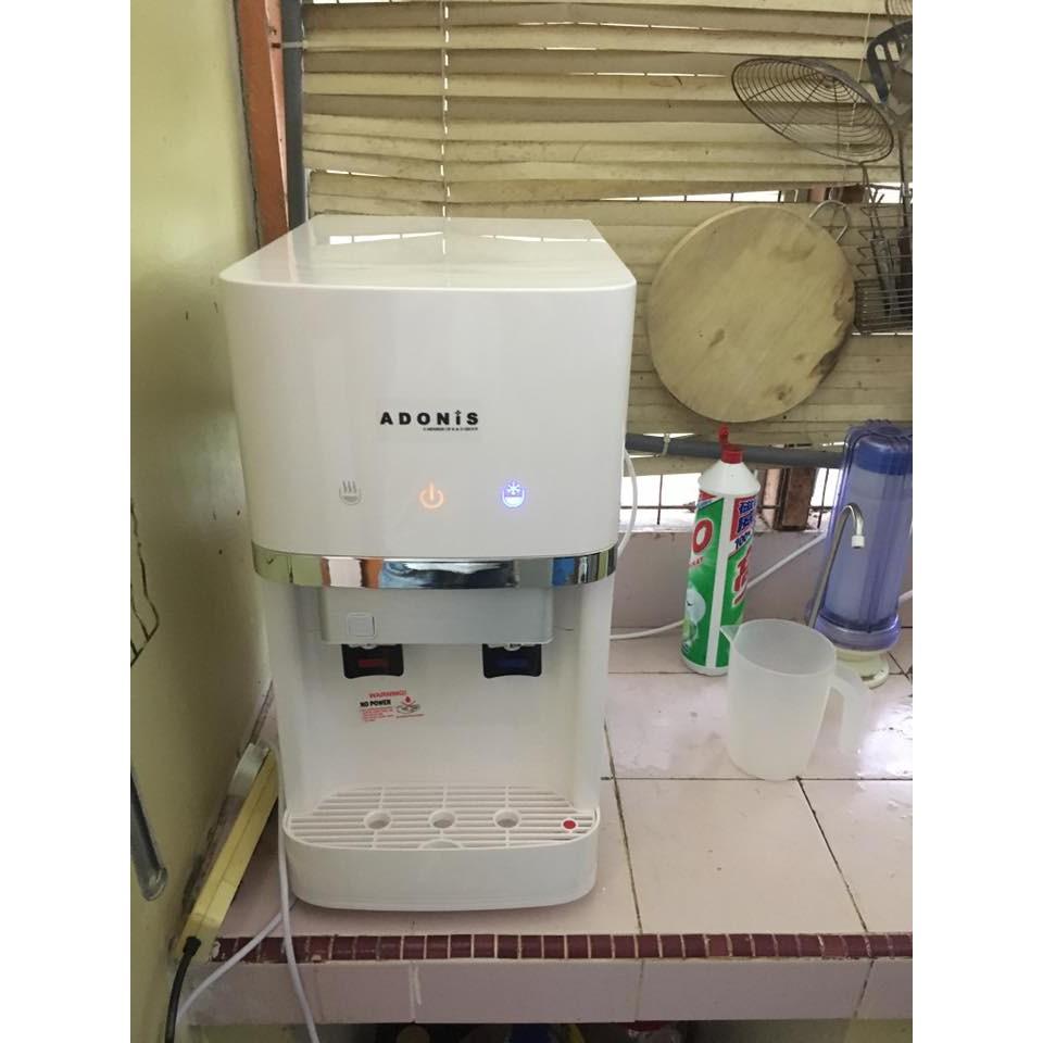 D-300-Alkaline Hot & Cold Table Top Water Dispenser(White/Black)