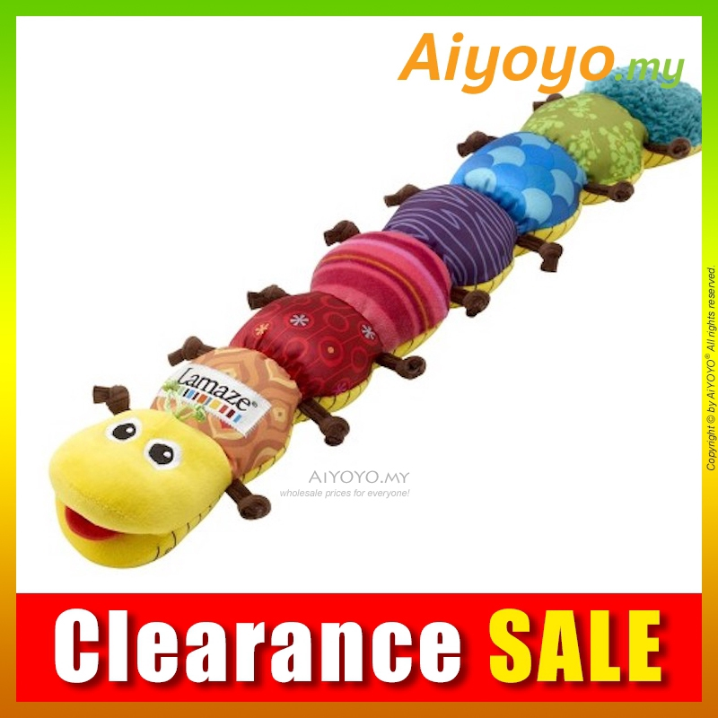 Lamaze Musical Inchworm Toy 60CM Stuffed Plush Soft Teddy Bear Doll Toys Music
