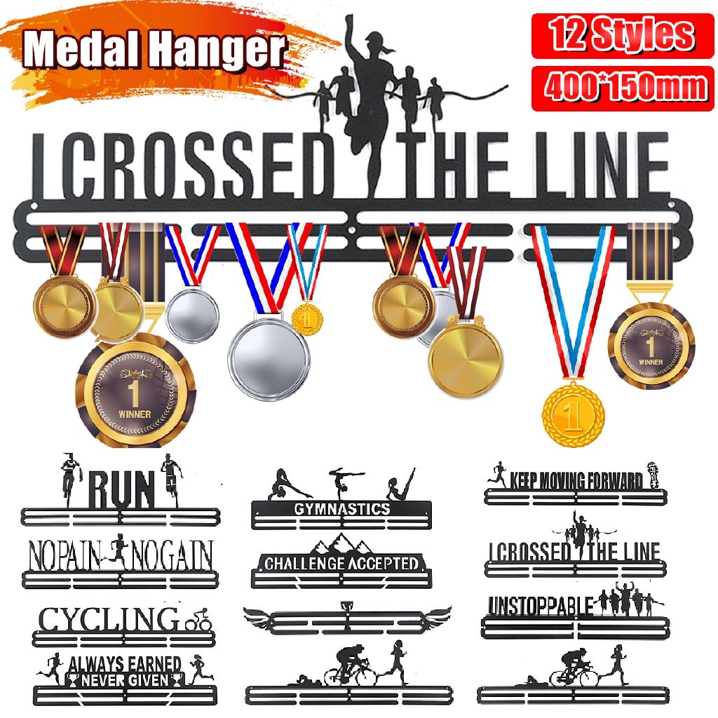 Personalised Medal Hanger Medal Holder 5MM TAEKWONDO 2 TIER SPORT