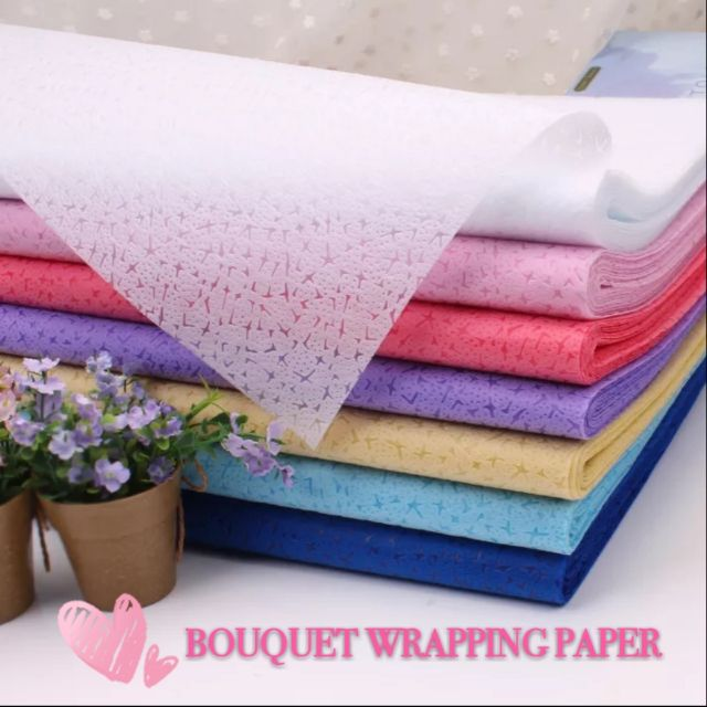 Non Woven Bouquet Wrapping Paper