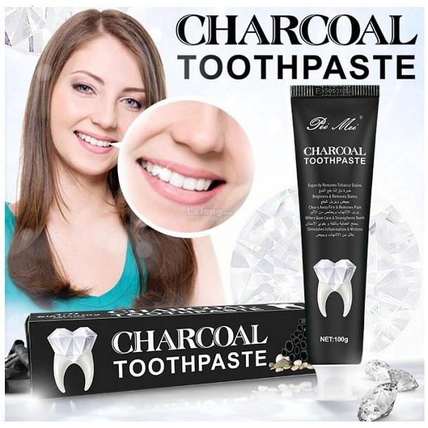 3D Whitening Charcoal Toothpaste 100g