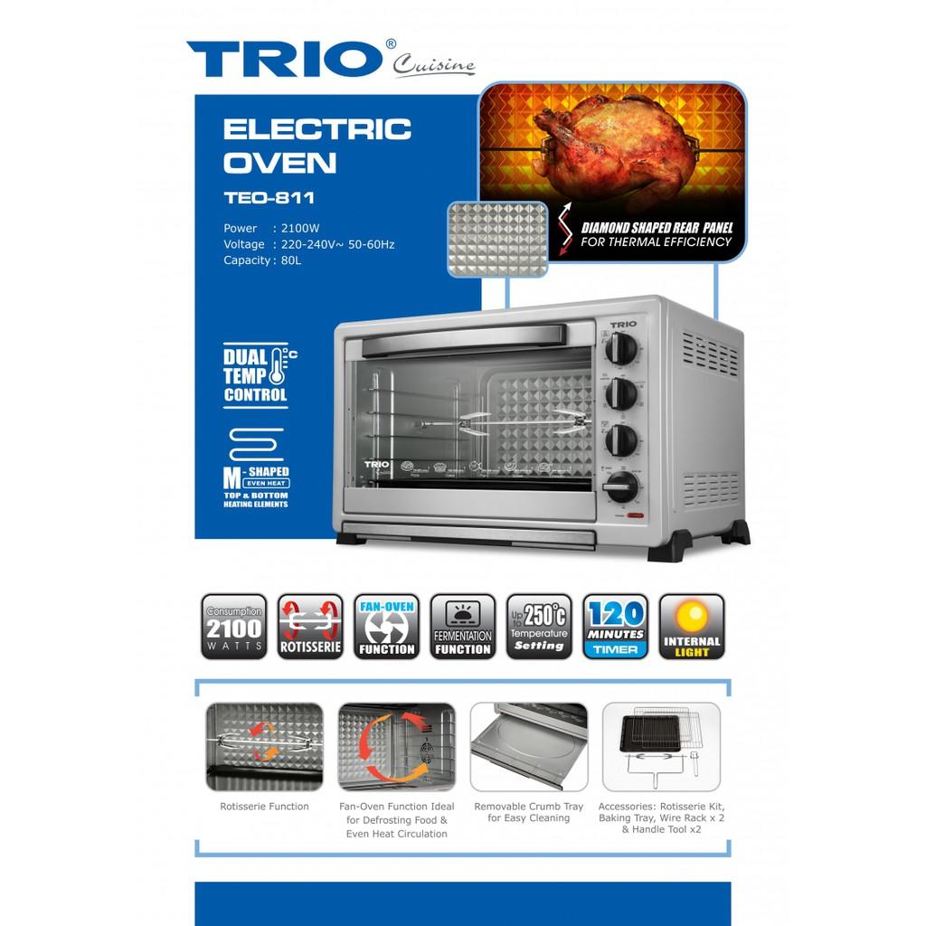 TRIO 80L Electric Oven TEO-811 Replace TEO-801