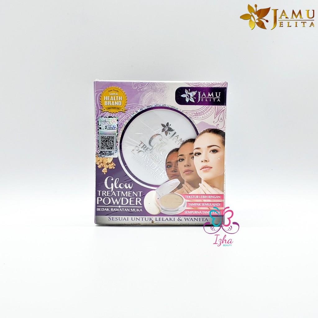 [JAMU JELITA] Glow Treatment Powder (Bedak Rawatan Muka)