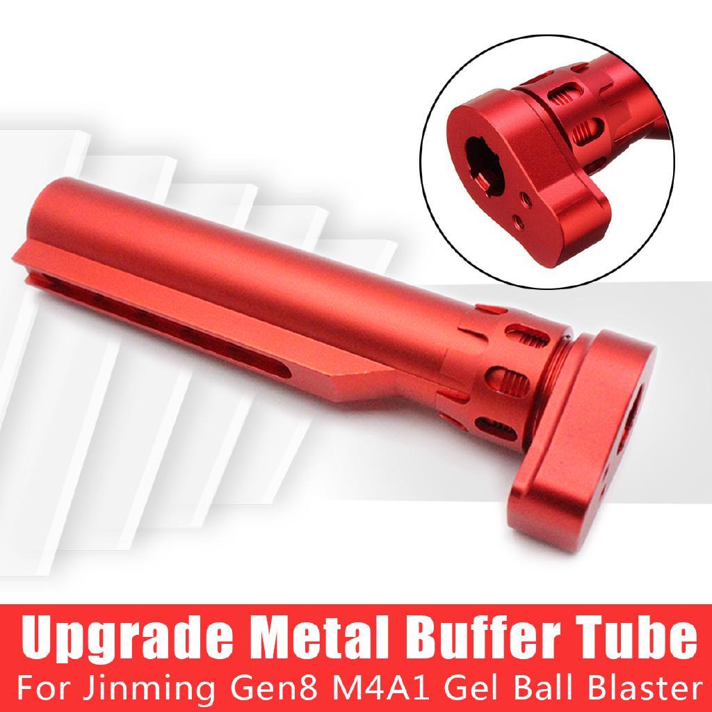 Upgrade Metal Buffer Tube for JinMing Gen8 M4A1 Gel Blaster Gun Toy