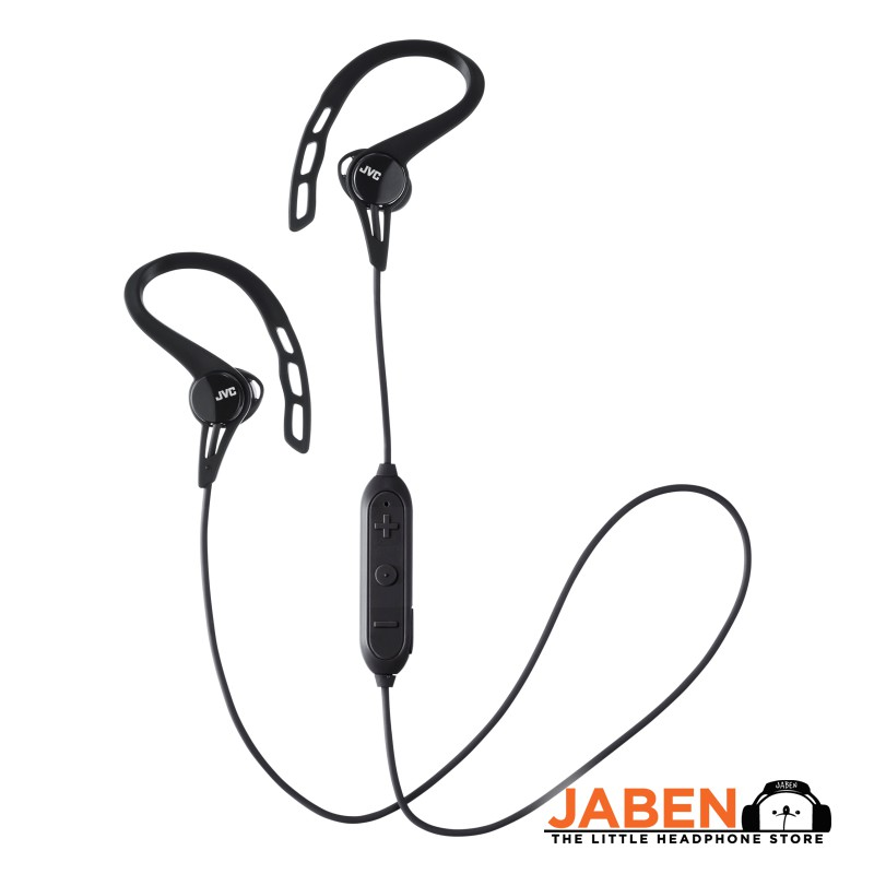 JVC HA-EC20BT Sweatproof Microphone Remote Control Volume Control Bluetooth Sports Earphone [Jaben]