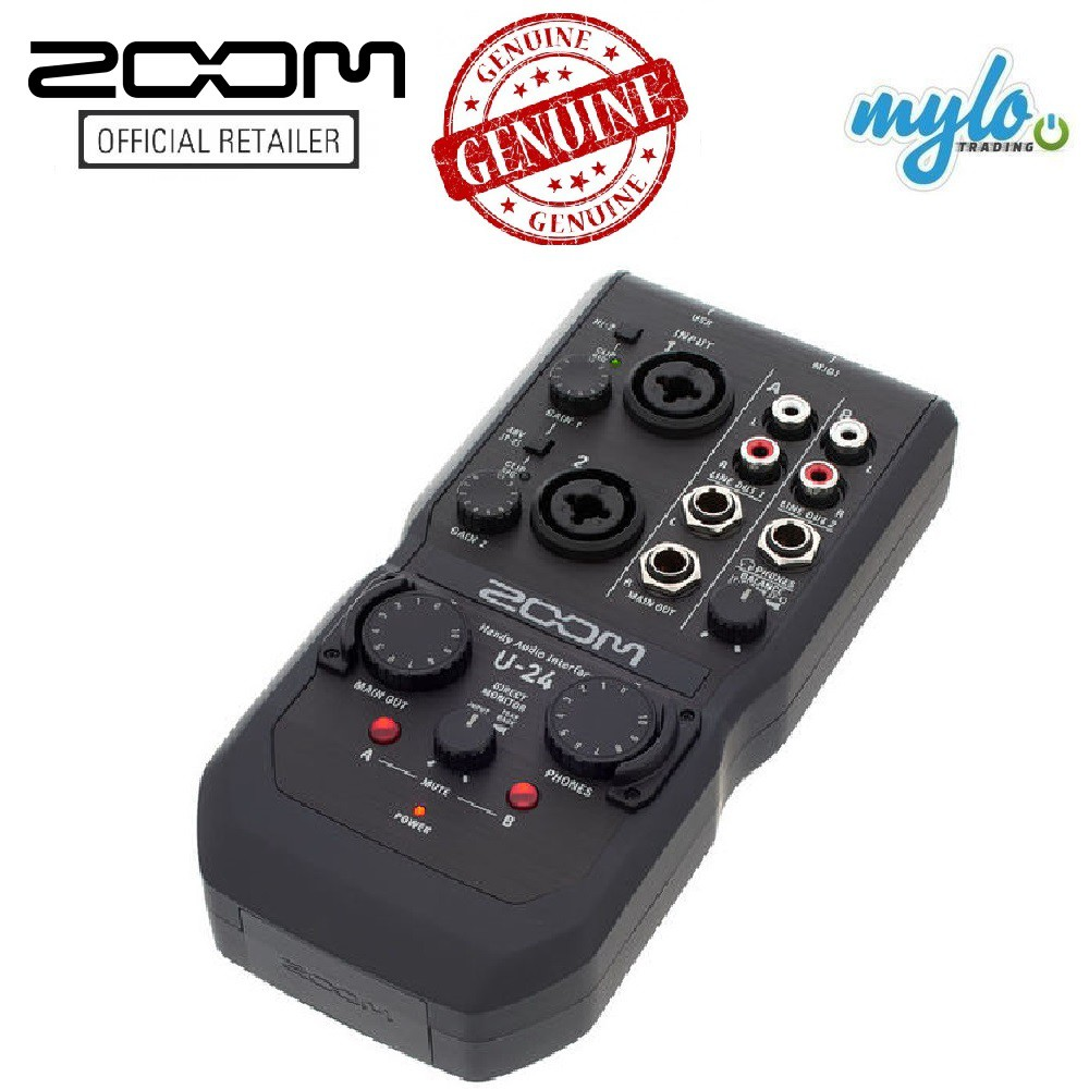 Zoom U-24 / U24 Portable Audio Interface