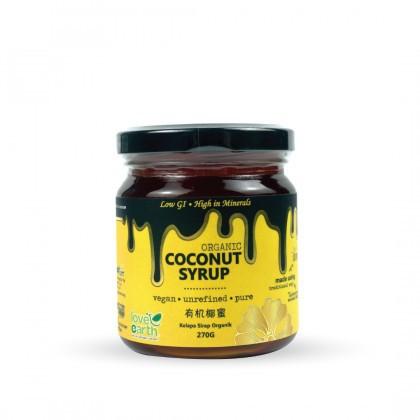 Love Earth Organic Coconut Nectar 270g 乐儿有机椰蜜 270公克 (樽装)