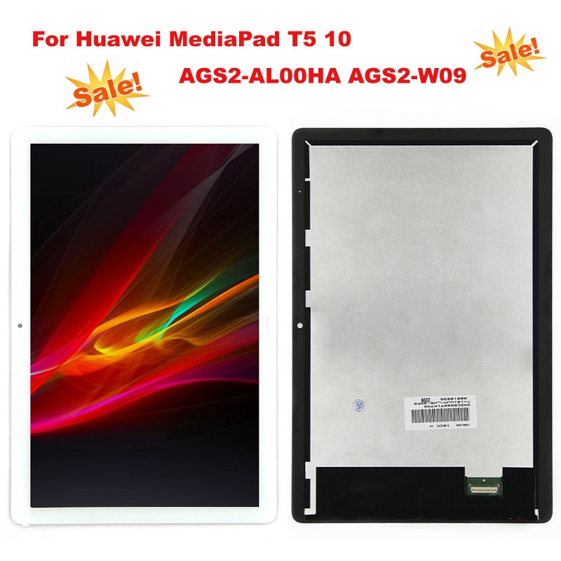 10.1In Huawei MediaPad T5 10 AGS2-L09 W09 W19 LCD Screen Display Replacement