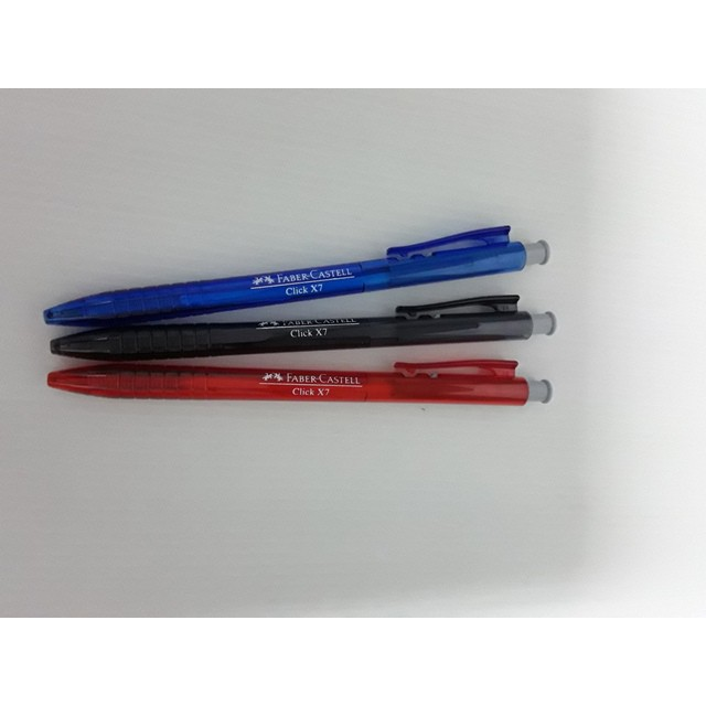 Faber-Castell Click X7 Ball Pen 1422 (60pcs/box)