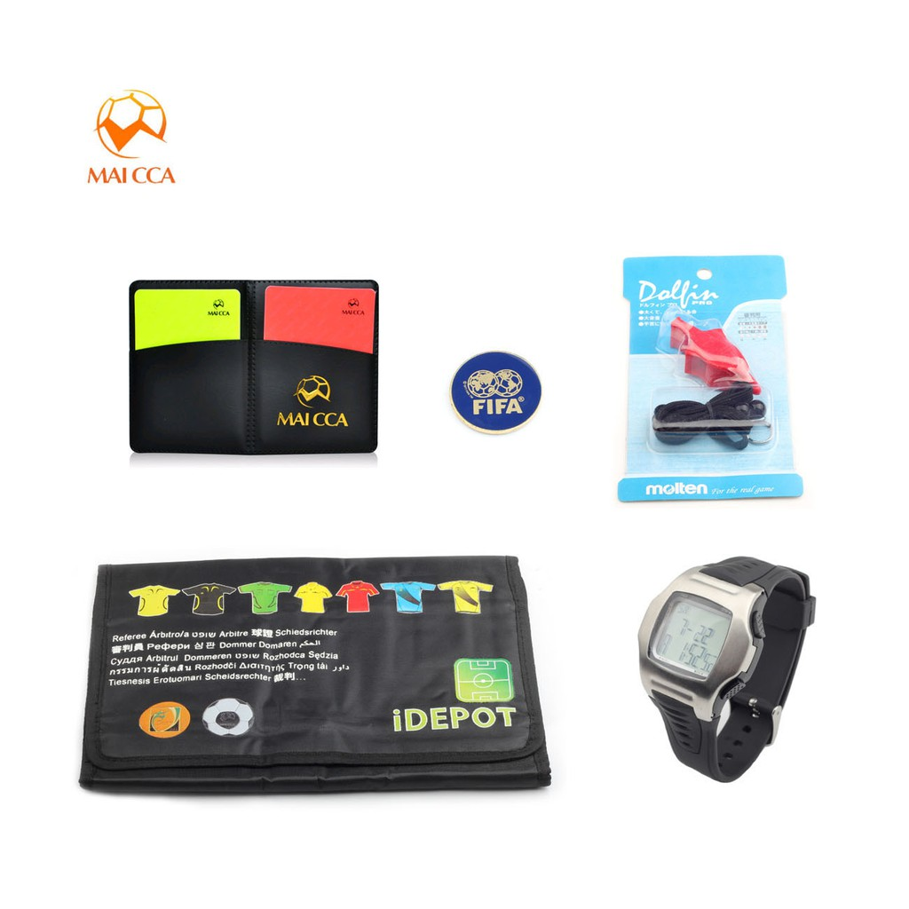 5 IN 1 Football Practical Sports Training Referee soccer Referee Equipment