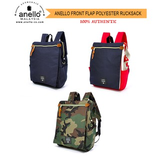 bd87da85b Anello Front Flap Backpack | Shopee Malaysia