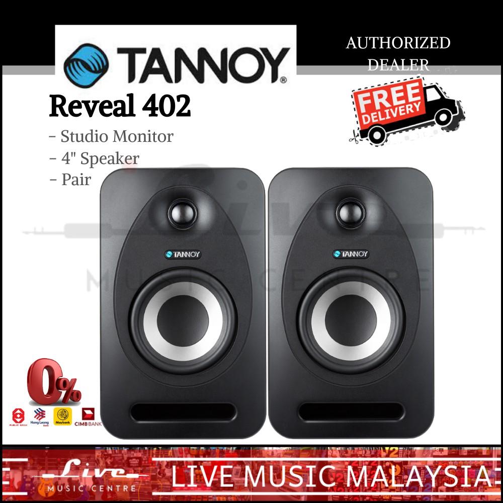 """Tannoy Reveal 402 - 4"""" Studio Monitor Speaker, Pair"""