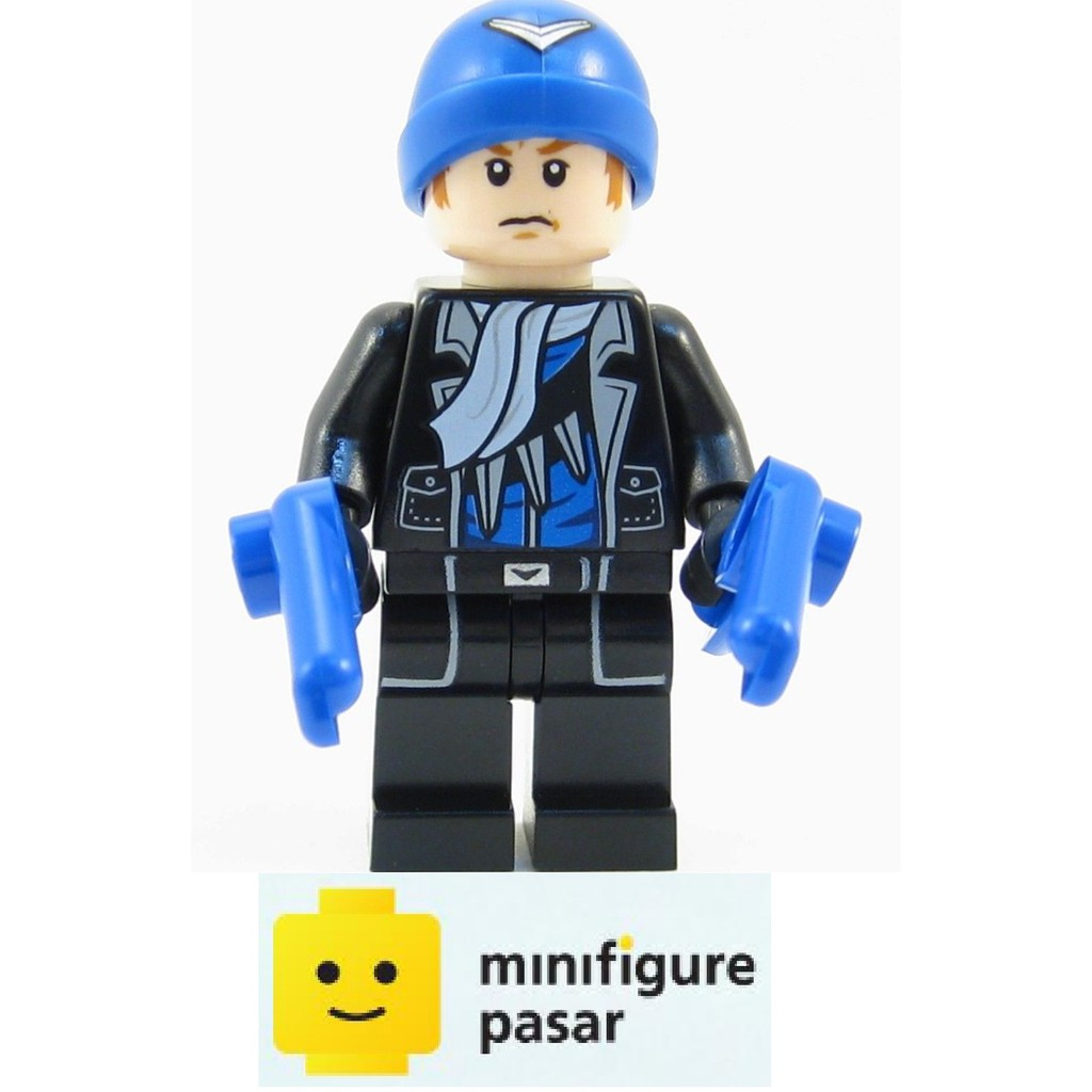 From 76055 Batman II Minifigure New Lego Super Heroes Captain Boomerang sh281