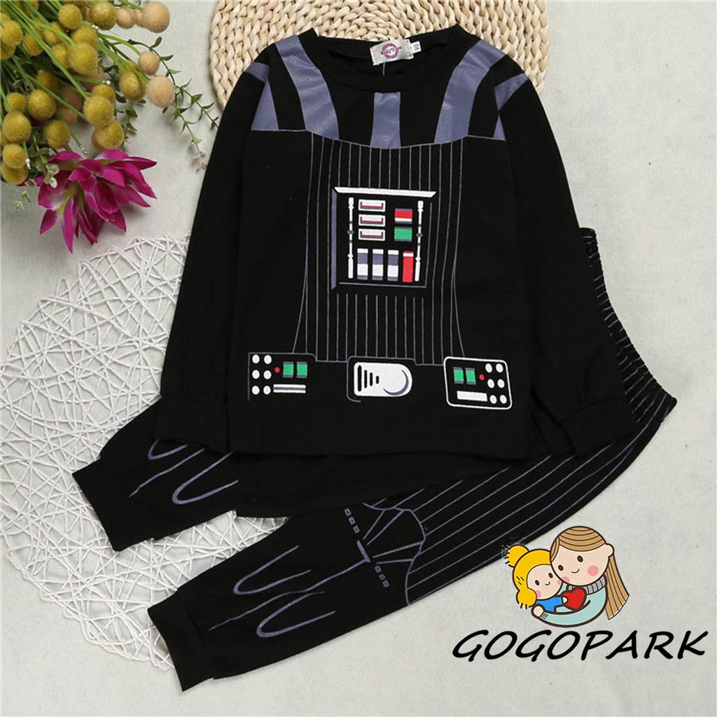 Enthusiastic Star Darth Vader Costume For Kids Darth Vader Jumpsuit Cloak Clothing With Cape Toy Christmas Holiday Cosplay For Boy Girl Toys & Hobbies Novelty & Gag Toys